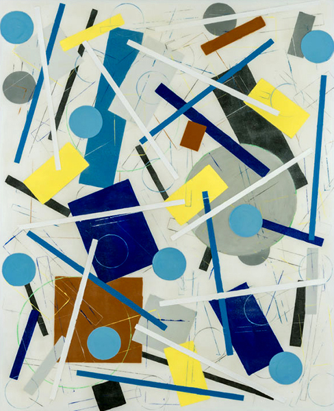 , 'Pale Blue Polka Dots,' ca. 2015, Lanoue Gallery