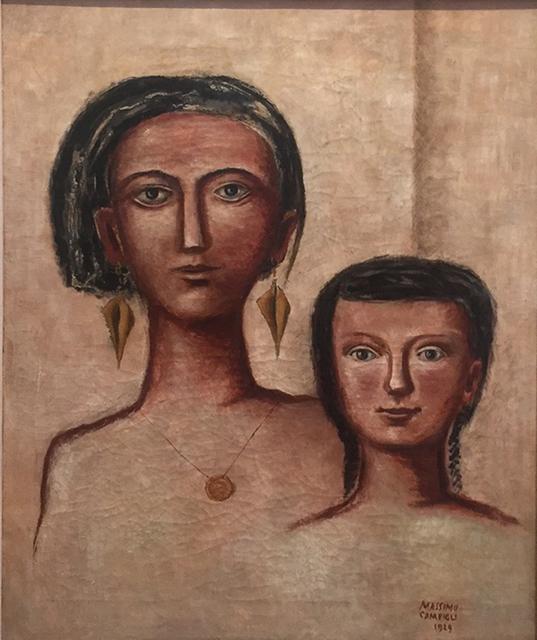Massimo Campigli, 'Madre e figlia', 1929, Galleria Tega