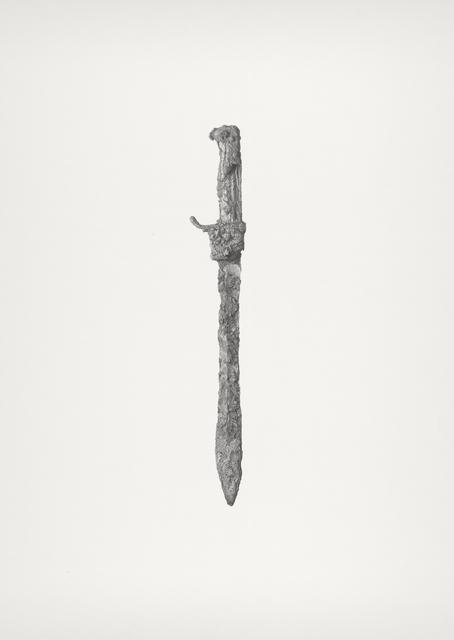 , 'Bayonet (Dolch),' 2012-2013, Robert Kananaj Gallery