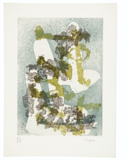 Various Artists, 'Paroles Peintes V, Éditions O. Lazar-Vernet, Paris, 1975', 1975, Print, The complete set of nine signed and numbered etchings with aquatint in colors, on Arches paper, Christie's