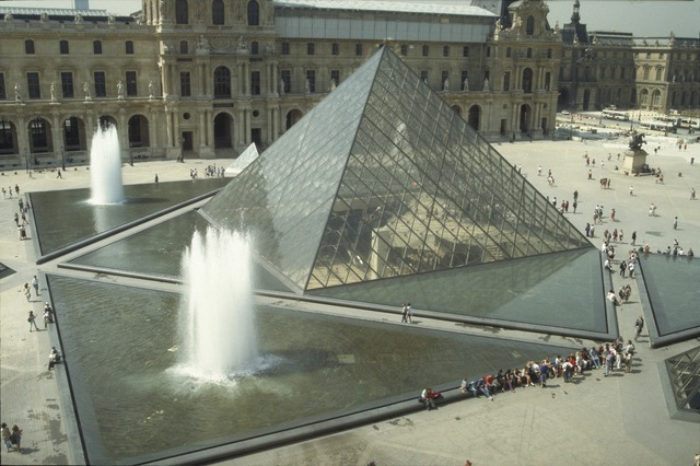 I.M. Pei, 'Louvre Project (Pyramid)', 1984-1988, Architecture, Allan Kohl