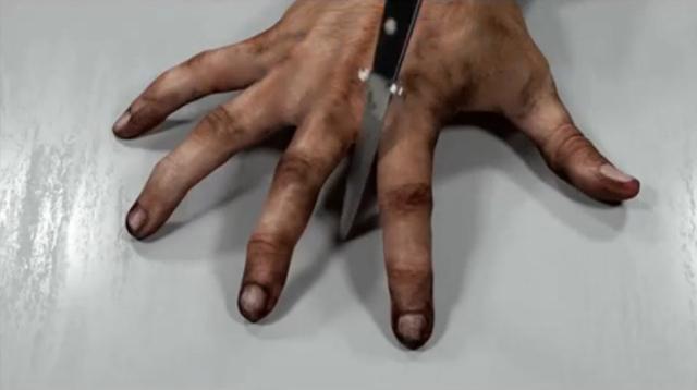 , 'Knifework,' 2015, Corey Oberlander + Lindsey Stapleton