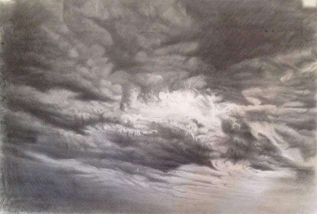 Panos Famelis, 'Black Sky 5 (The Cave Series)', 2015, IFAC Arts