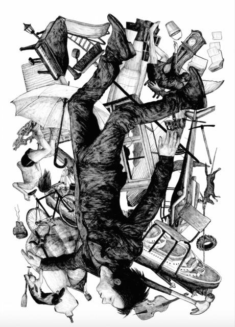 , 'La chute - white edition,' 2015, Galerie Brugier-Rigail