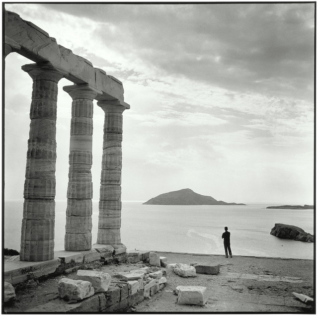 , 'Sounion, At the temple of Poseidon,' 1955, galerie SIT DOWN