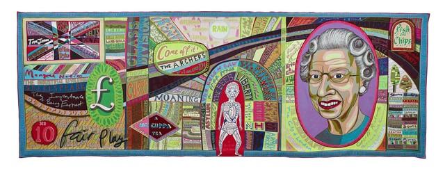 , 'Comfort Blanket,' 2014, Monnaie de Paris