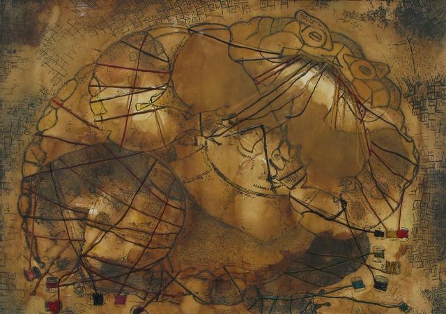 , 'Un sapo con hilos,' , Galeria Oscar Roman