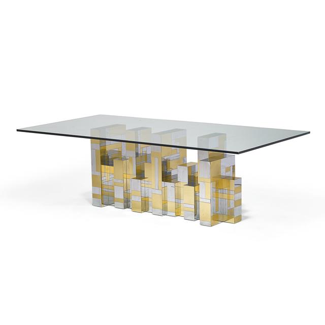 Paul Evans, 'Cityscape dining table, USA', 1970s, Rago