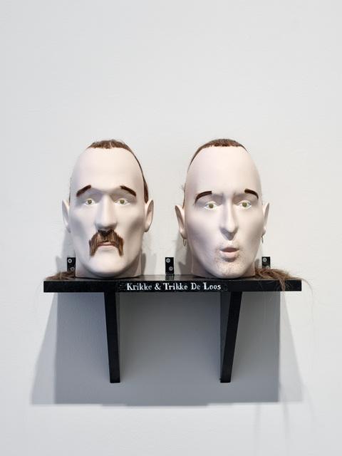 , 'Krikke & Trikke De Loos,' 2018, dépendance