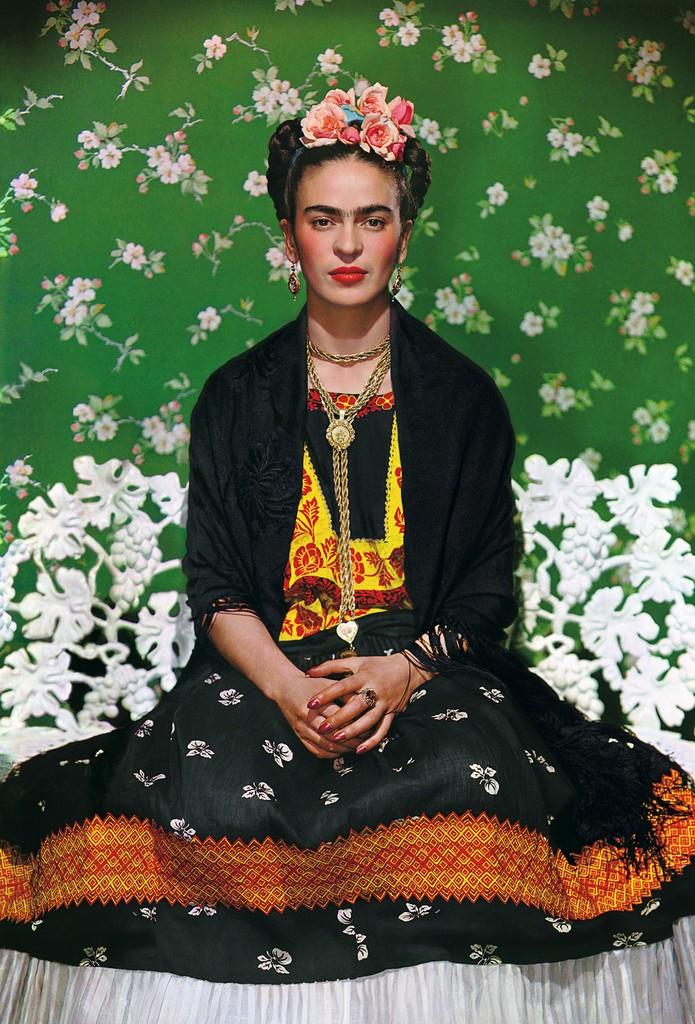 Nickolas Muray, 'Frida Kahlo on White Bench, New York (2nd Edition),' 1939, Bentley Gallery