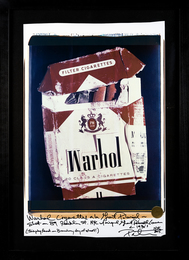 Peter Tunney, 'WARHOL CIGARETTES,' 2015, Rush Benefit Auction 2016