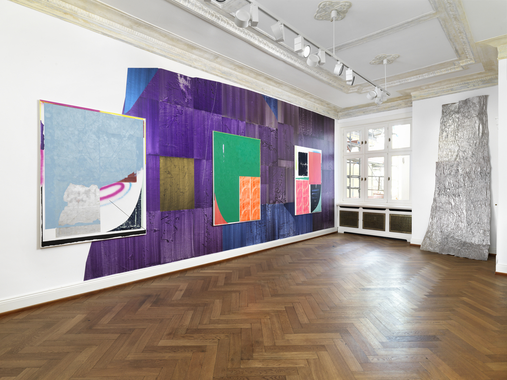 Drawing Room, Anke Voelk. ON, installation view I