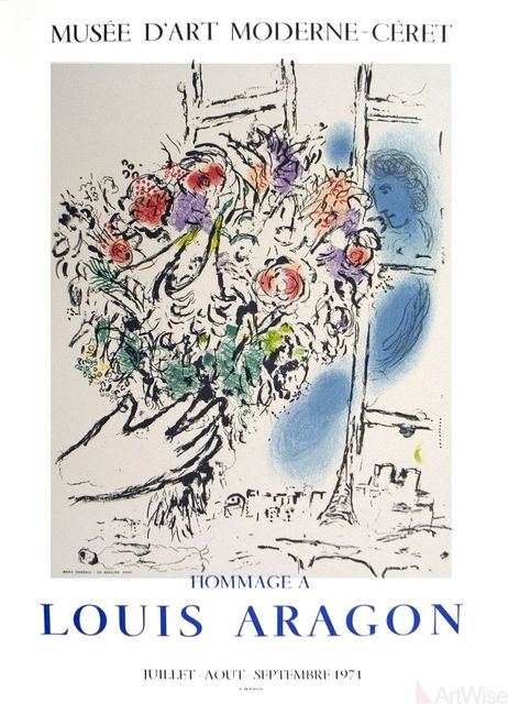 Marc Chagall, 'Floral Offering', 1971, ArtWise