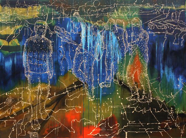 , 'Signal Group,' 2016, Dominik Mersch Gallery