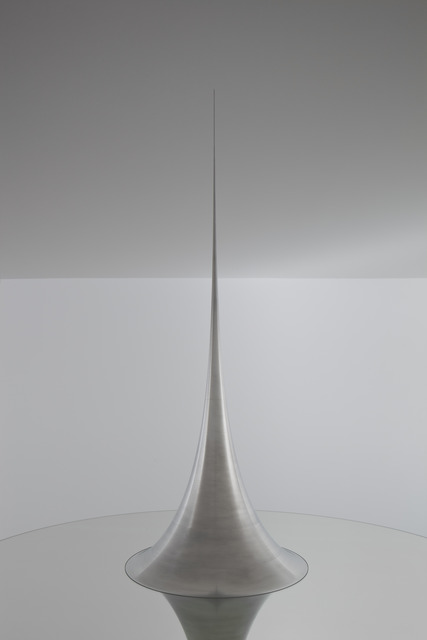 , 'Mathematical Model 006: Surface of Revolution with Constant Negative Curvature,' 2006, Japan House
