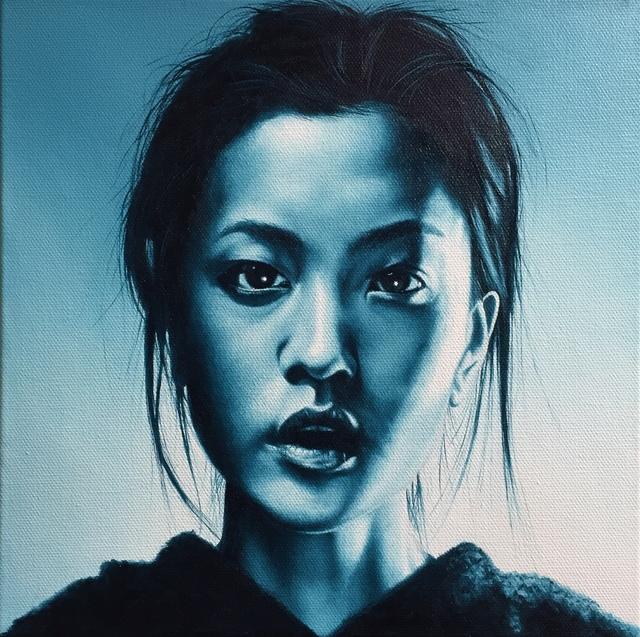 , 'Young Woman No. 1,' 2018, M.A. Doran Gallery