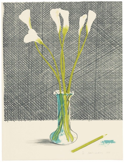 David Hockney, 'Lillies', 1971, Christie's