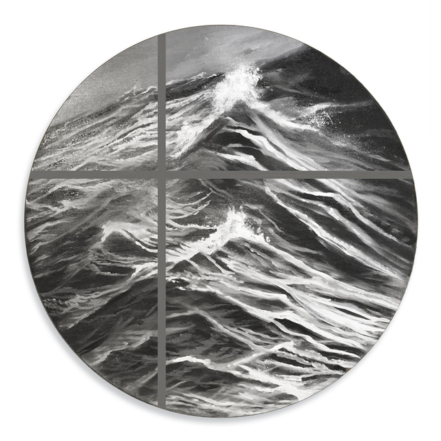 , 'Fragmented Sea,' 2017, OTA Contemporary
