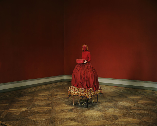 , 'Red Cardinal,' 2014, Nationalmuseum
