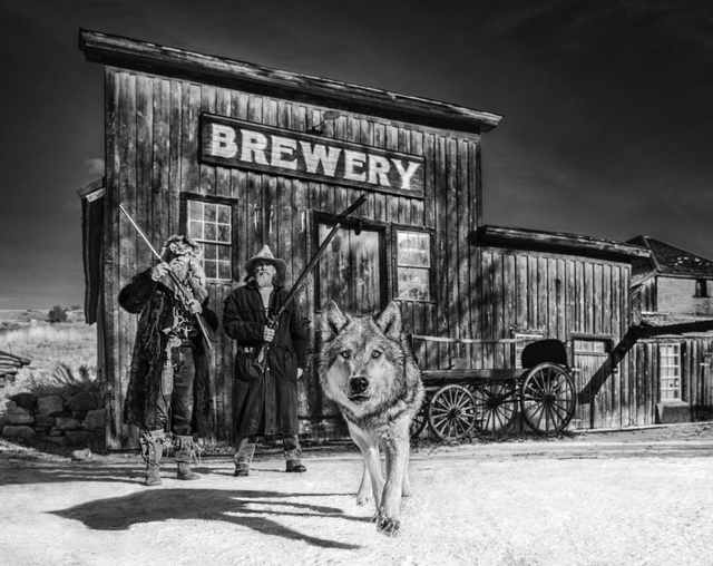 David Yarrow, 'Something's Brewing', ca. 2019, Photography, Archival Pigment Print, Samuel Lynne Galleries