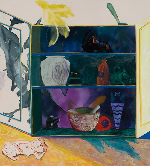 , 'Cabinet Painting,' 2018, Asya Geisberg Gallery