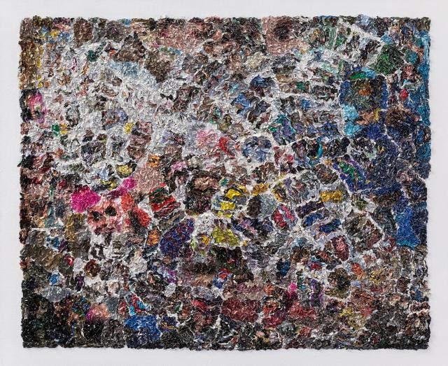 Wu Shaoxiang 吴少湘, 'Stream 溪水 ', 2017, Painting, Paper, acrylic on canvas 纸、炳烯、布面, Linda Gallery