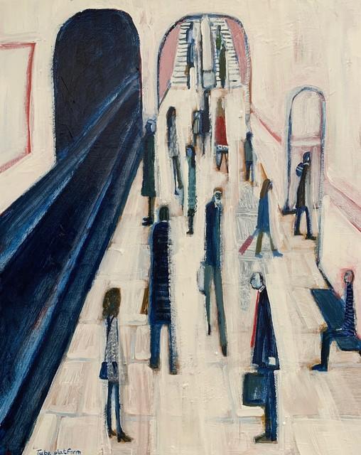 , 'Tube platform,' Contemporary, D-Contemporary