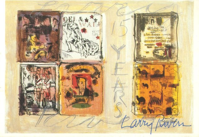 Larry Rivers, 'Larry Rivers 15 Years (from the Estate of UACC President Cordelia Platt)', ca. 1965, Alpha 137 Gallery