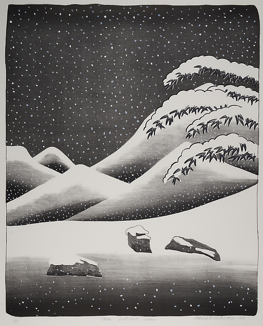 David Hockney, 'Snow Without Colour', 1973, Rago/Wright