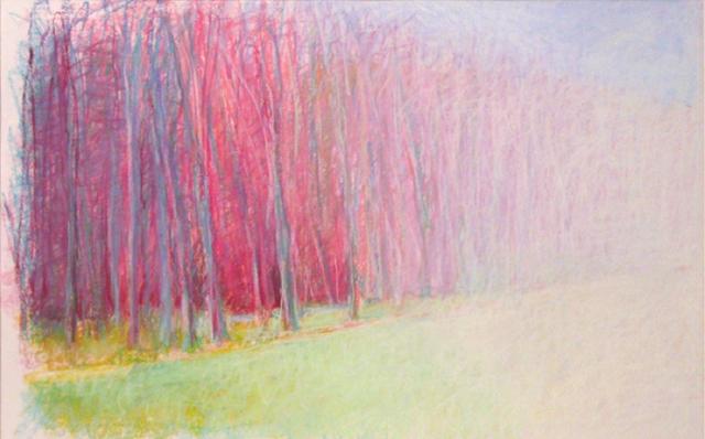 Wolf Kahn, 'See the Way to Red', 1985, Cavalier Ebanks Galleries