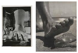 , 'TQ 29/30: Benito Mussolini Statue/Jelly Fish,' 1936/1964, Moss Bureau