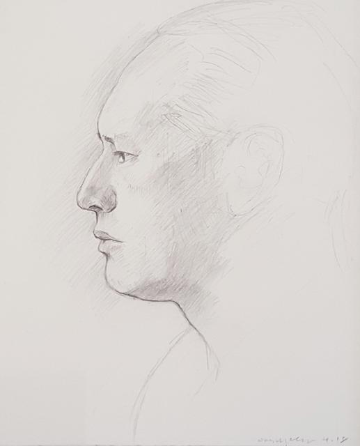 Dan McCleary, 'Wilber Urbina Profile', 2018, Craig Krull Gallery