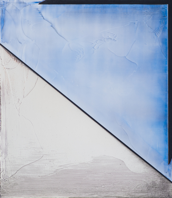 Jimi Gleason, 'Air', 2020, Painting, Silver deposit and acrylic on canvas, Bentley Gallery