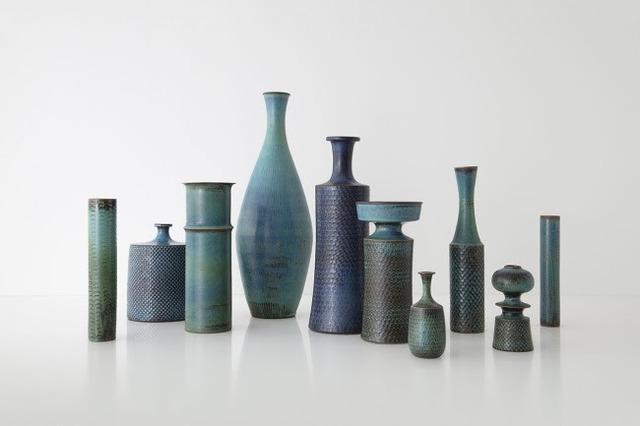 Stig Lindberg, 'Collection of Studio Vases, Gustavsberg, Sweden', ca. 1960, Hostler Burrows