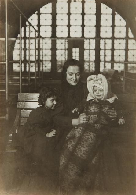 Lewis Wickes Hine, 'A Tenement Madonna, Ellis Island', circa 1905, Phillips