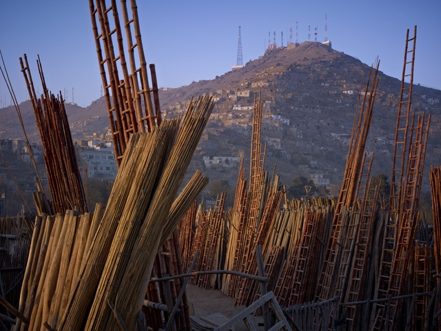 , 'Shop For Construction Materials. American Surveillance Antennae On The Hills, Kabul,' 2010, Benrubi Gallery