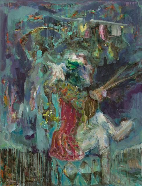 , 'Der Maler (nach Chardin),' 2015, Barbara Thumm