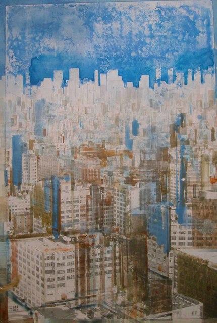 Gottfried Salzmann, 'NY Cerulean Blue', 2007, Galerie Arcturus