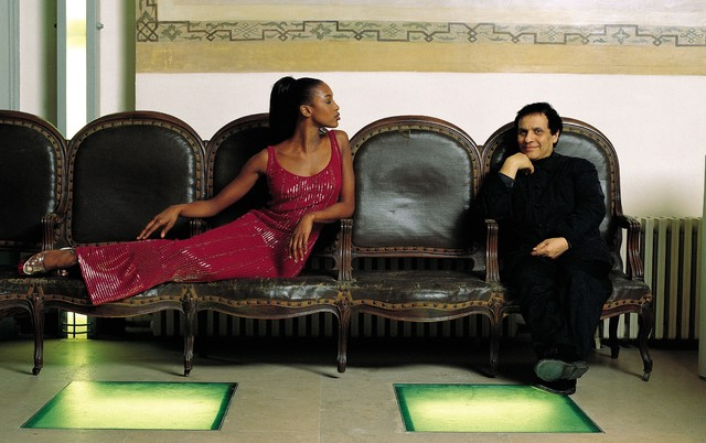 , 'Azzedine Alaïa and Naomie Campbell, 1996,' , Photo12 Galerie