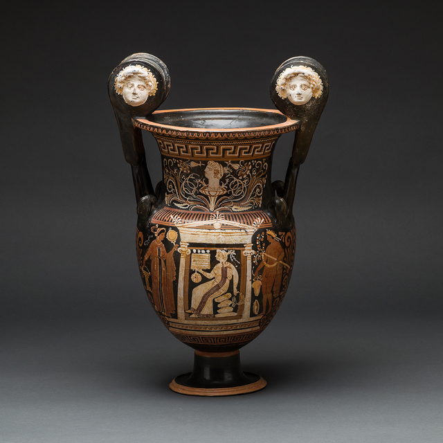 , 'Apulian Red and Figure Volute Krater,' 400 BCE-300 BCE, Barakat Gallery