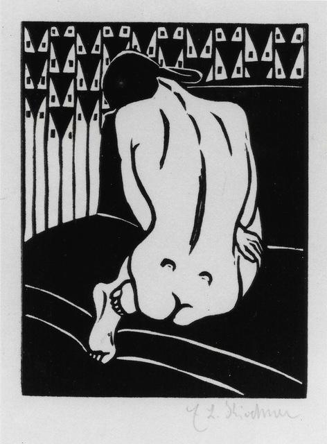 , 'Kauernder Akt, vom Ruecken gesehen (Crouching Nude Seen from Behind).,' 1905, Alice Adam Ltd.