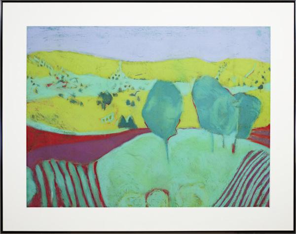, 'Landscape Green,' 1970, David Barnett Gallery