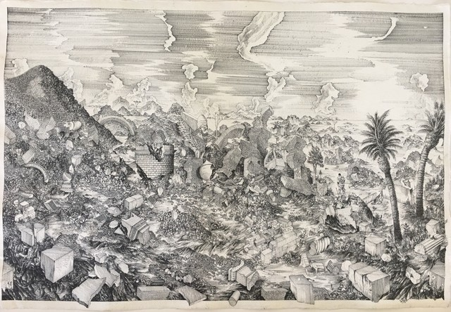 Octave Marsal, 'Vision of today's Nineveh Ruins. Destroyed in October 2016', 2017, Galerie Bessières
