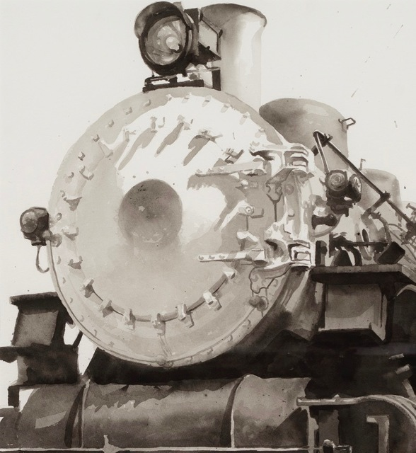 , 'Study:  Locomotive of Kenyon,' , RJD Gallery