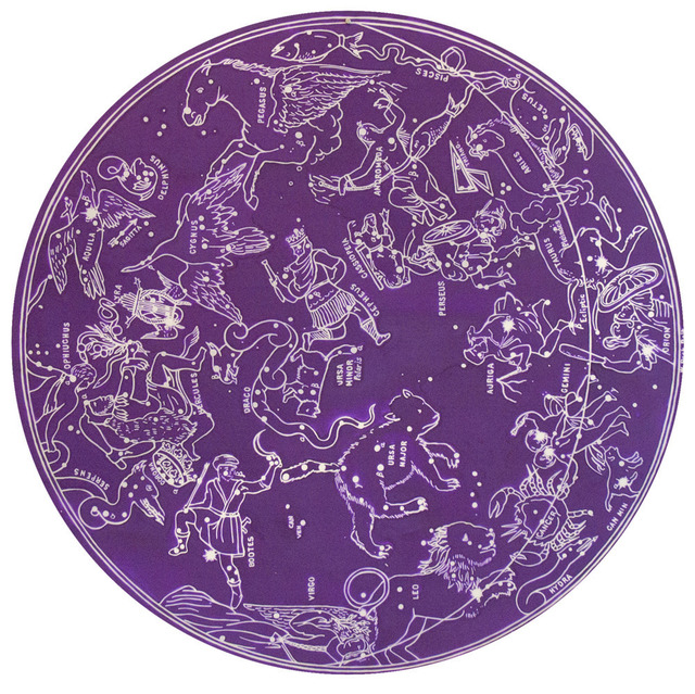 , 'Star Chart (Purple),' 2013, C. Grimaldis Gallery