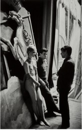 Backstage at the Folies Bergeres
