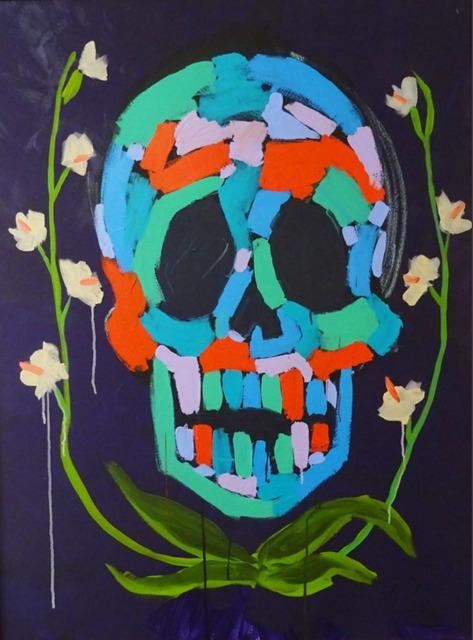 , 'Skull Flower I ,' 2016, Maddox Gallery
