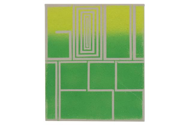 , 'Yellow Green Goddess,' , C O U N T Y