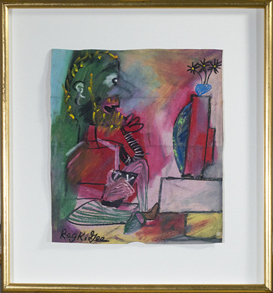 Reginald K Gee, 'T.V. Viewer', 1999, David Barnett Gallery