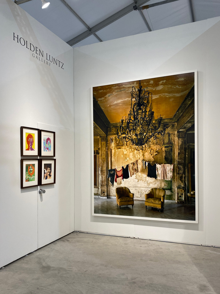 Left to right: Richard Avedon, The Beatles, London, 1967; Michael Eastman, Isabella's Two Chairs, Havana, 2000